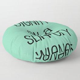 Big Brother Slippery Wiener Floor Pillow