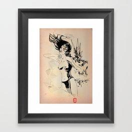 Boom!!! Framed Art Print