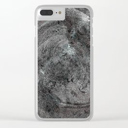 UZ Sect end Clear iPhone Case