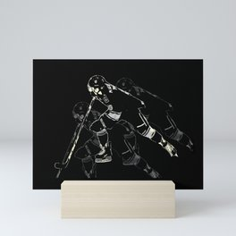 Hockey Mania Mini Art Print
