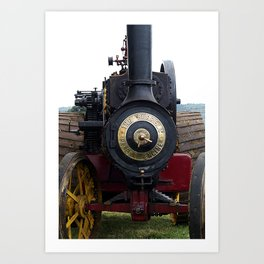 Steam Power 1 - Tractor Art Print