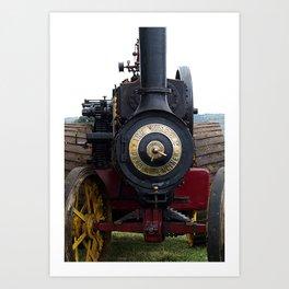 Steam Power 1 - Tractor Art Print