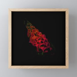 Fantastical Phosphorescent Foxglove Framed Mini Art Print