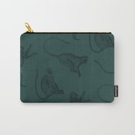 monkey pattern Carry-All Pouch