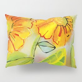 Sunflowers in the Morning Pillow Sham