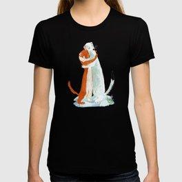 Weasel hugs T-shirt