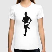 birdman T-shirts featuring Birdman Running by RobHansen
