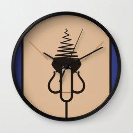 Knob Wall Clock