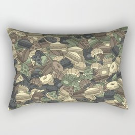 Fast food camouflage Rectangular Pillow