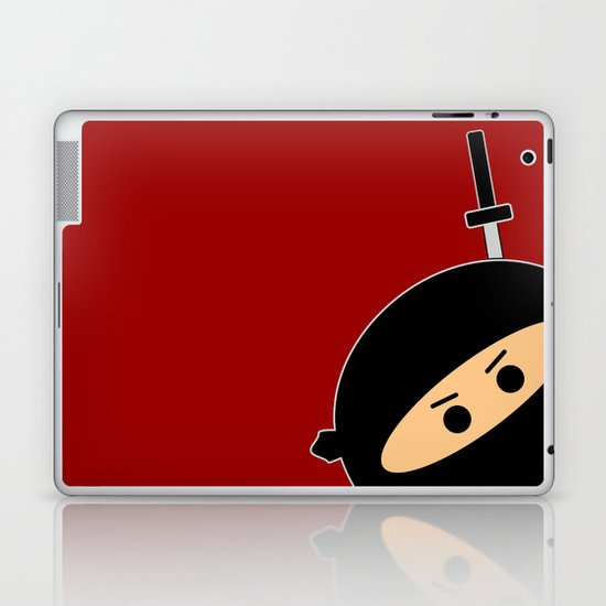 Ninja at Sunset Laptop & iPad Skin