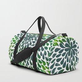 Abstract watercolor drops Duffle Bag