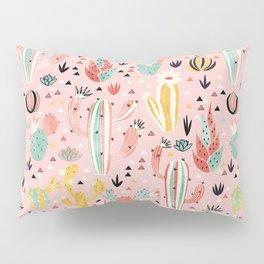 Pink Desert pattern Pillow Sham