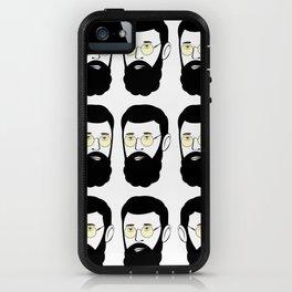 hipster hertzel III iPhone Case