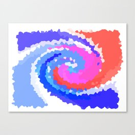 Twirly Whirly  Canvas Print