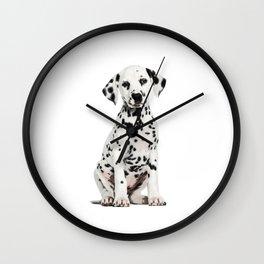 Cute Dalmatian 6 Wall Clock