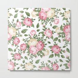 Flowers seamless patterns 25 Metal Print