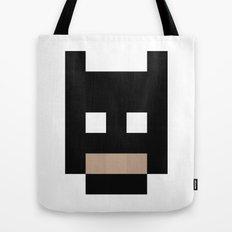 hero pixel black Tote Bag