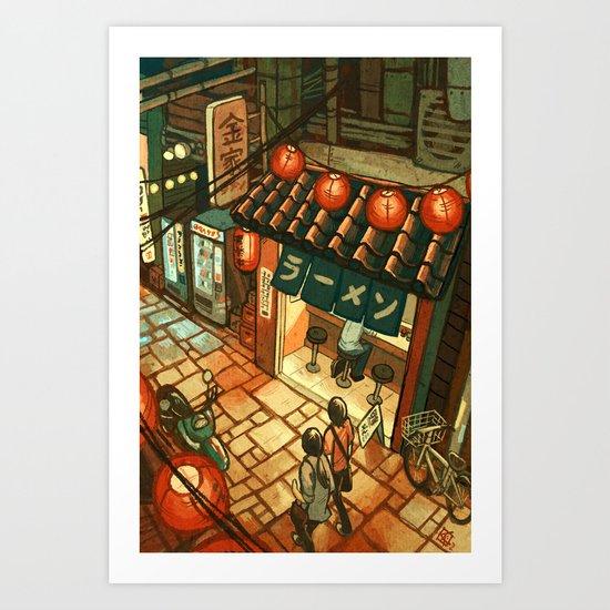 Ramen in the Alley by kerriaitken
