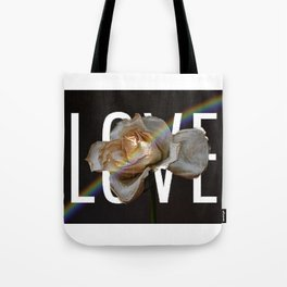 Love And Flowers Bring May Showers Tote Bag