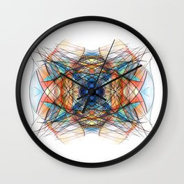Commit to Dreams ~ Sandalphon Wall Clock