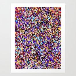 tiny ppl Art Print