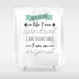 INIMITABLE - HAMILTON Shower Curtain