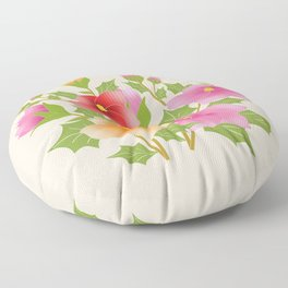 Bouquets Floor Pillow