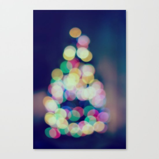Blue Christmas Canvas Print