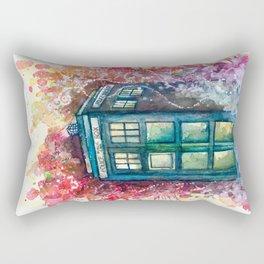 Doctor Who Tardis Rectangular Pillow