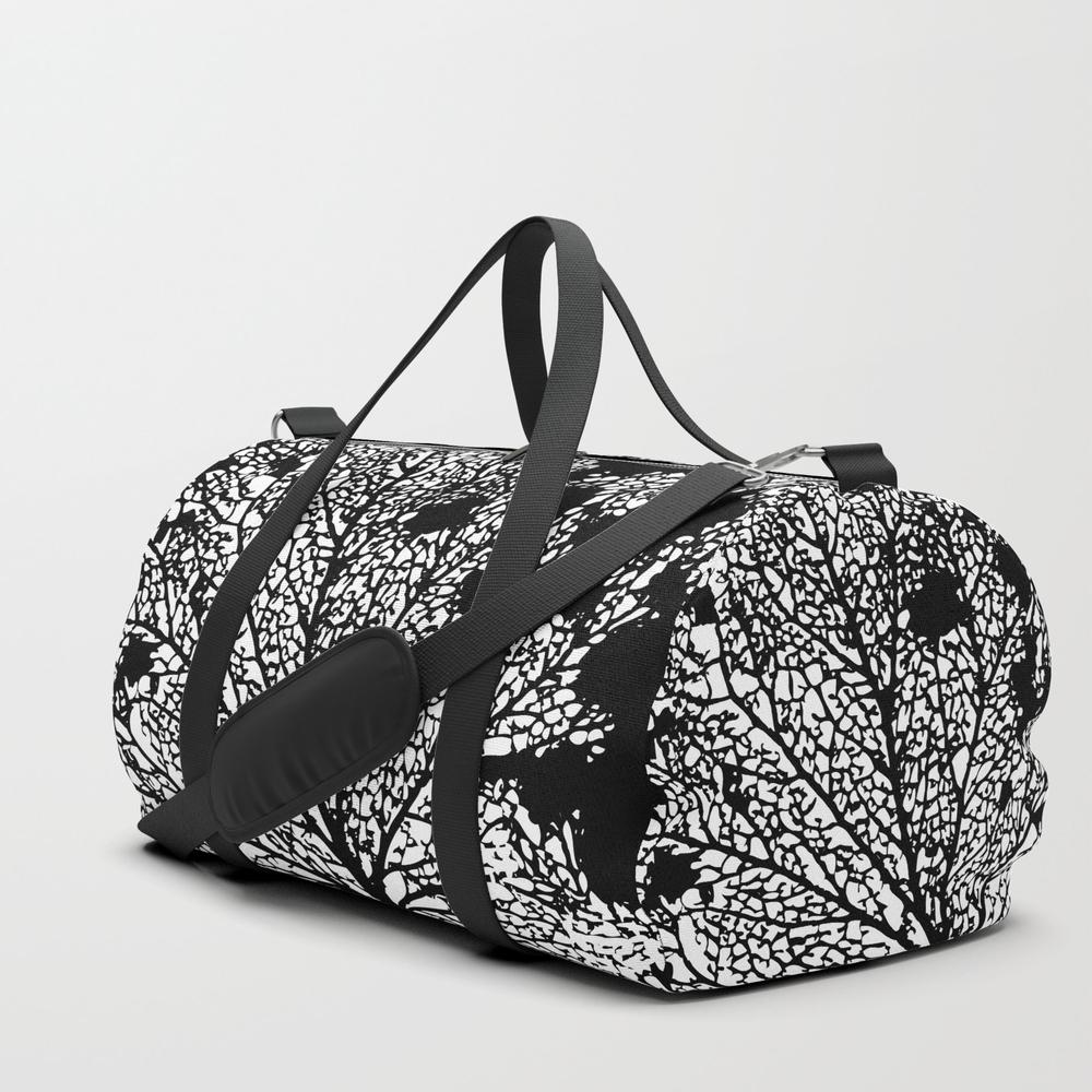 Black Veins Duffle Bag by Zeljkica DFL6516661