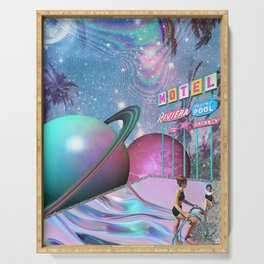 Barbie DreamMotel - Trippy Collage Serving Tray