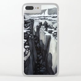 Anasazi Desert Clear iPhone Case