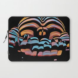 1333s-MAK Abstract Rearview Butt Up Pants Down Fingers in Front Laptop Sleeve