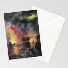 Oceanfire Stationery Cards