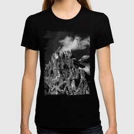 Black and White Mountains T-shirt