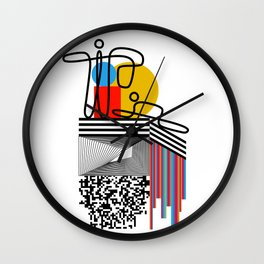 Citty Issues 2 Wall Clock