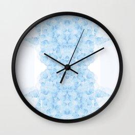 Cloudy judgment Wall Clock