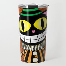Cassius.Halloween cat Travel Mug