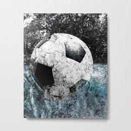 Modern soccer version 1 Metal Print