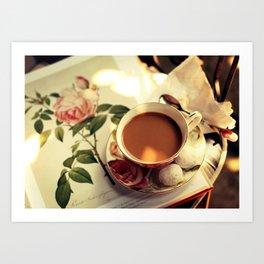 Book of Roses Art Print