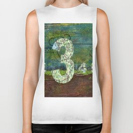 Journey by Number: three comes before four Biker Tank