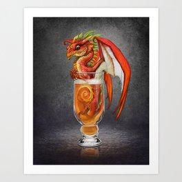 Cider Dragon Art Print
