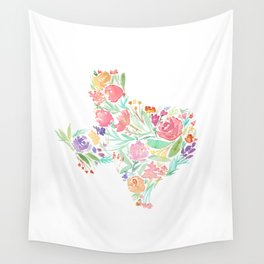 Bloomin' Texas Wall Tapestry