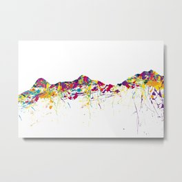 Eiger/Mönch/Jungfrau SWISS mountainsplash Metal Print