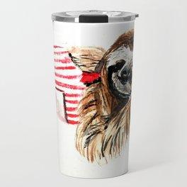 Sassy Sloth Travel Mug