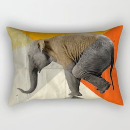 Balance of the pyramids Rectangular Pillow