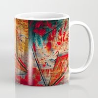 runner Mugs featuring Kite Runner by CMYKulaga
