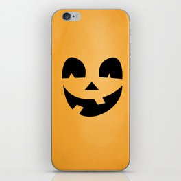 Silly Jack-O-Lantern iPhone Skin