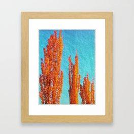 long fingers Framed Art Print