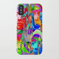 picasso iPhone & iPod Cases featuring Pop Picasso by Joe Ganech